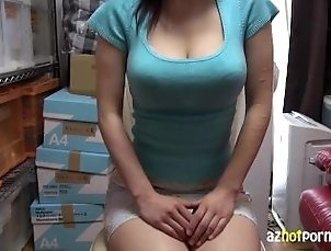 AzHotPorn - Bursting Asian Tits Before Your Very Eyes