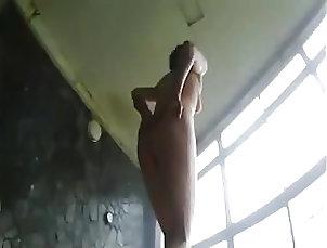 Japanese male-female mixed-public bath