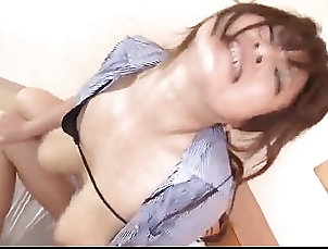 Airi Ai extreme hardcore sex to ruin her hairy pussy