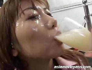 DRINKERS SEMEN Saki Kudou