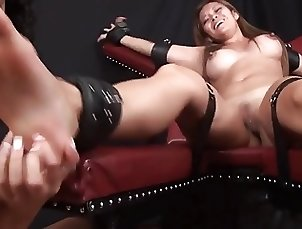 Tickling tied aisian.
