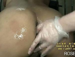 Rare uncensored japanese femdom pegging video