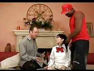 Asian Teen and 2 west guys