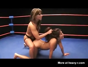 Nude Wrestling Match Asian vs. White